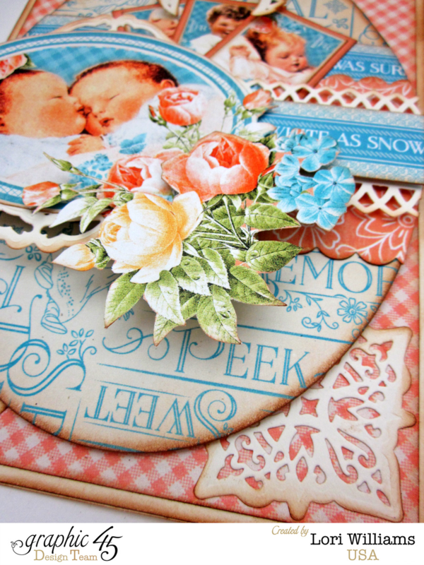 See more of this beautiful card by Lori using Precious Memories #graphic45