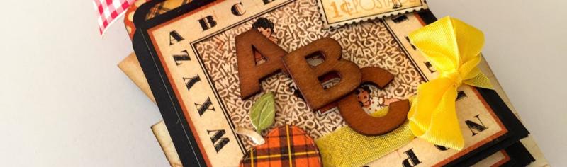 Abc Primer Tag Album Closeup