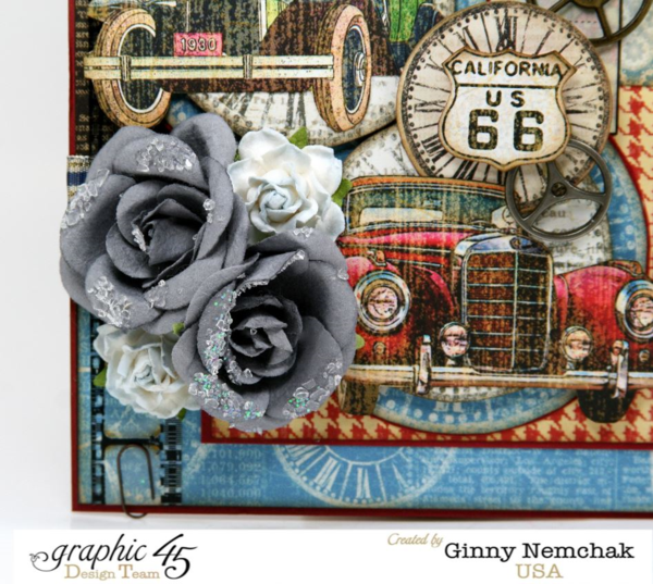 Try this Times Nouveau card with a Snapguide tutorial from Ginny #graphic45