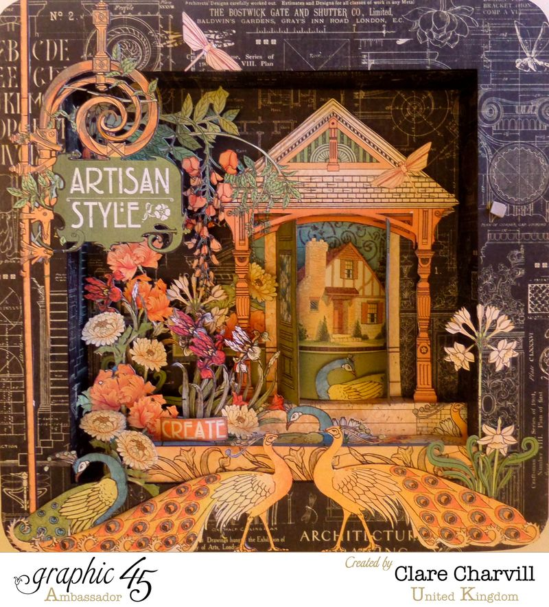 Artisan Style Frame 0 Clare Charvill Graphic 45