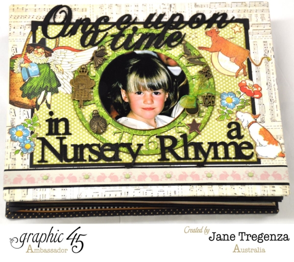 A Mother Goose album by the incredible Jane Tregenza #graphic45