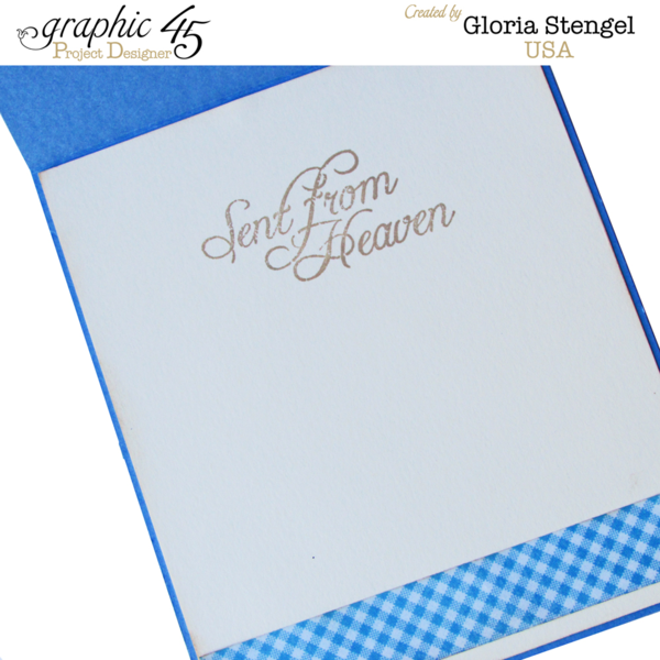 """""""Sent From Heaven"""" Precious Memories card by Gloria #graphic45"""