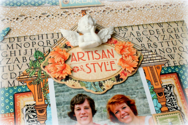 Visit the Paper Crafter's Library blog to see this great project by Romy Veul #graphic45
