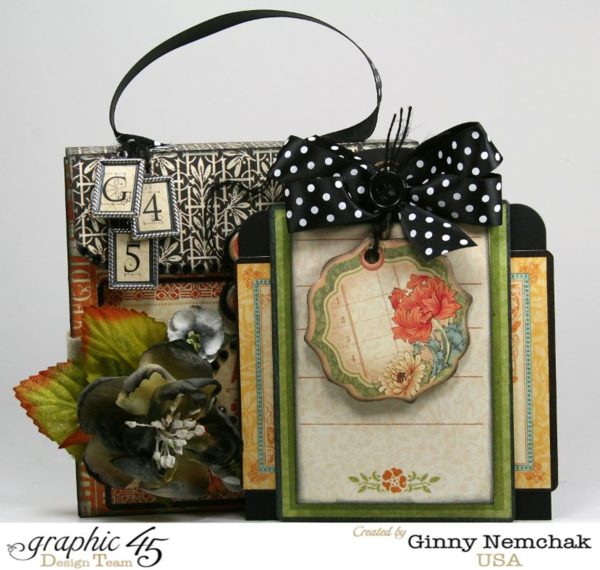 Artisan Style Gift Box with Tags by Ginny Nemchak #graphic45