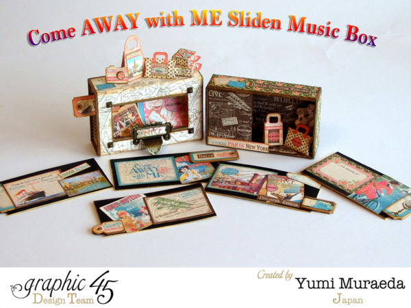 Come Away with Me sliding music box by Yumi #graphic45