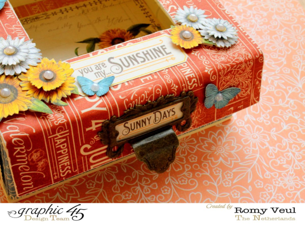 Time to Flourish Mixed Media Box by Romy #graphic45