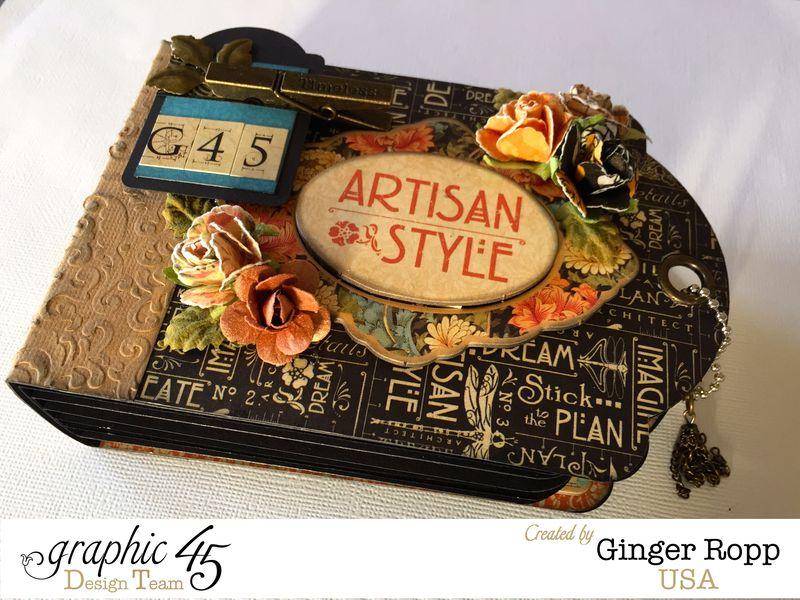 G45 Artisan Style Tag Mini Closeup