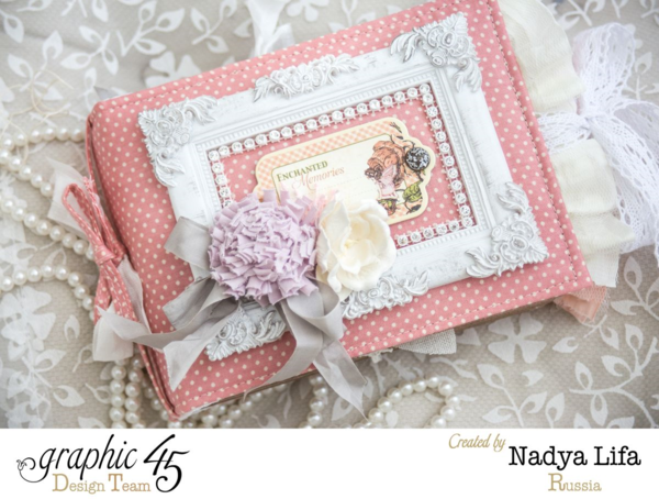 Gorgeous Once Upon a Springtime mini-album by Nadya #graphic45