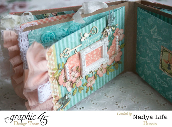 """Dreamer"" page of this Once Upon a Springtime mini album by Nadya #graphic45"