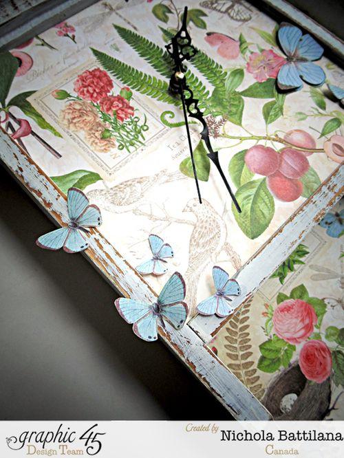 Graphic45_NBattilana_BotanicalTea_Times Nouveau_Clock_1of6