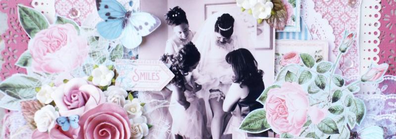 Wedding Layout_TimeToFlourish_ArleneCuevas_Graphic45_Photo2