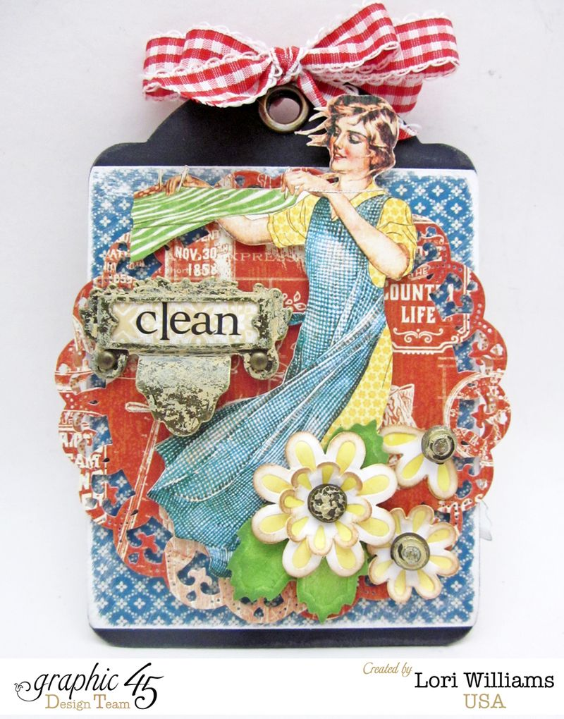 Soap Box with Tag by Lori Williams using Graphic 45 Home Sweet Home Product 5