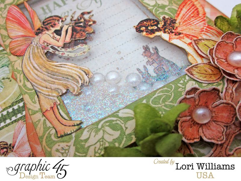 Once Upon a Springtime Shaker Card by Lori Williams Product used Graphic 45 4