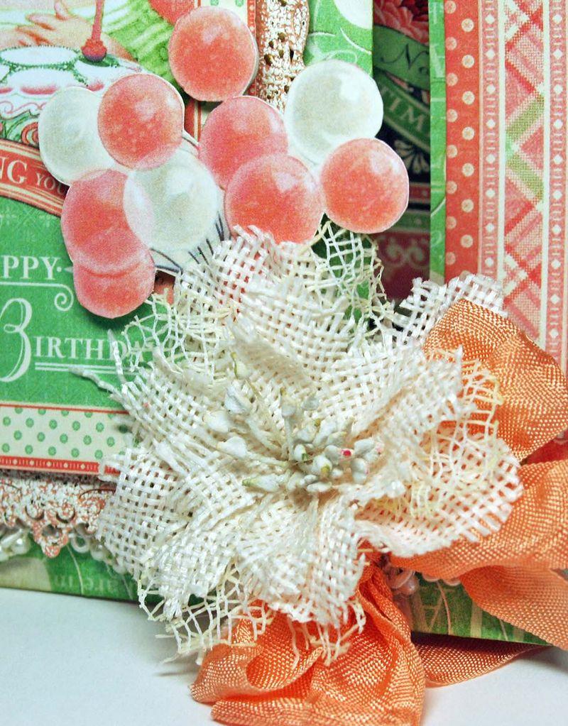 Brthday card, Time to Celebrate, Maggi Harding, Graphic 45, photo 2