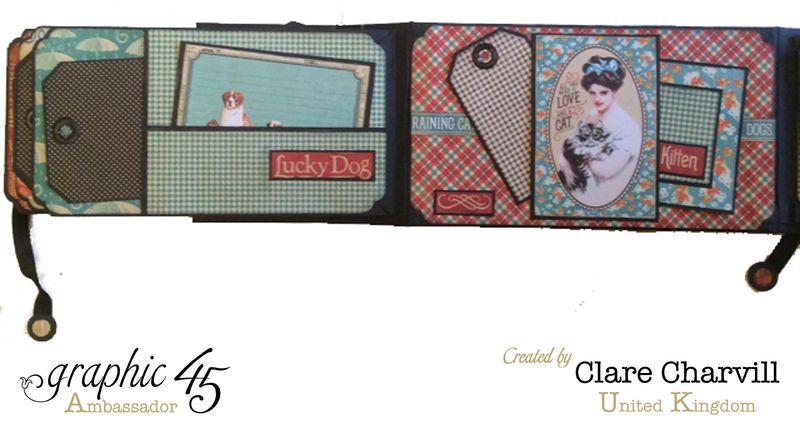 RCD Flip Flap Album Clare Charvill Graphic 45 11