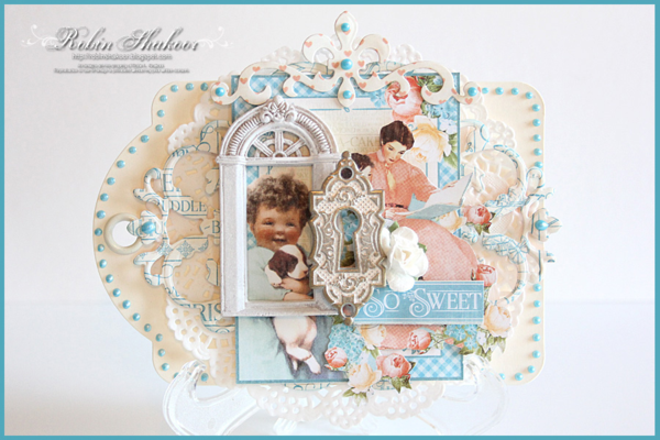 Tag Album, Precious Memories, Robin Shakoor, Product by Graphic 45