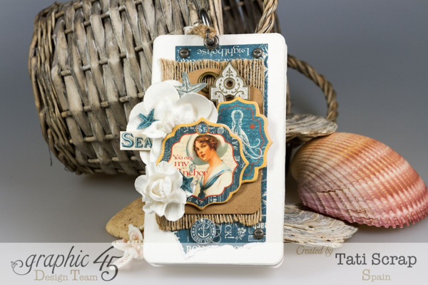 Tati, Mini, By The Sea, Graphic 45