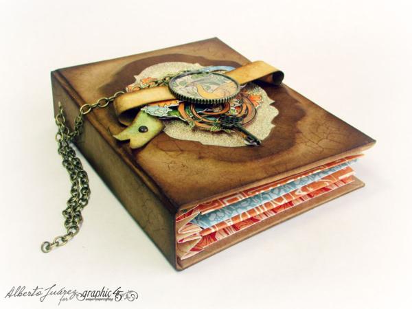 Vintage Book, Artisan Style collection, AlbertoJuarez, by graphic45