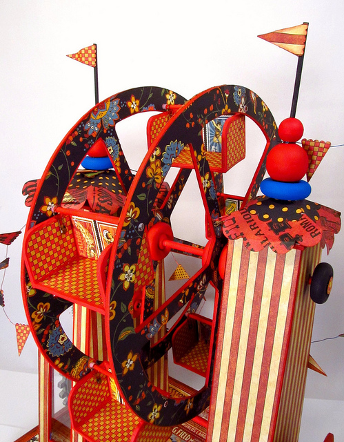 Le Cirque Ferris wheel by Jim, the Gentleman Crafter #graphic45