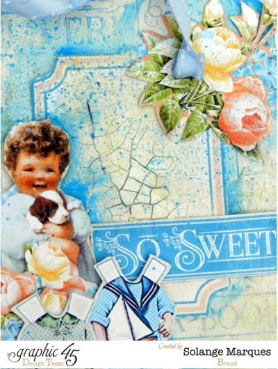 Mixed Media Precious Memories tags by Solange Marques #graphic45