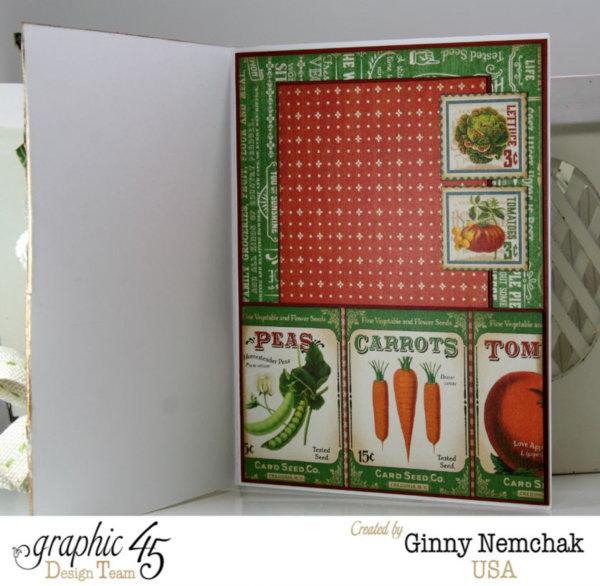 Home Sweet Home Seed Packet Card by Ginny #graphic45