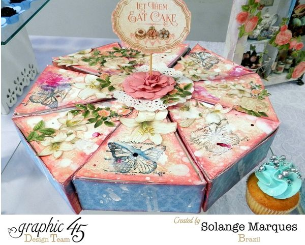 Bridal Shower Favors by Solange Marques featuring Graphic 45 Gilded Lily collection (2) 1