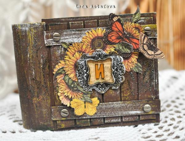 French Country mini album by Elena Astafeva #graphic45