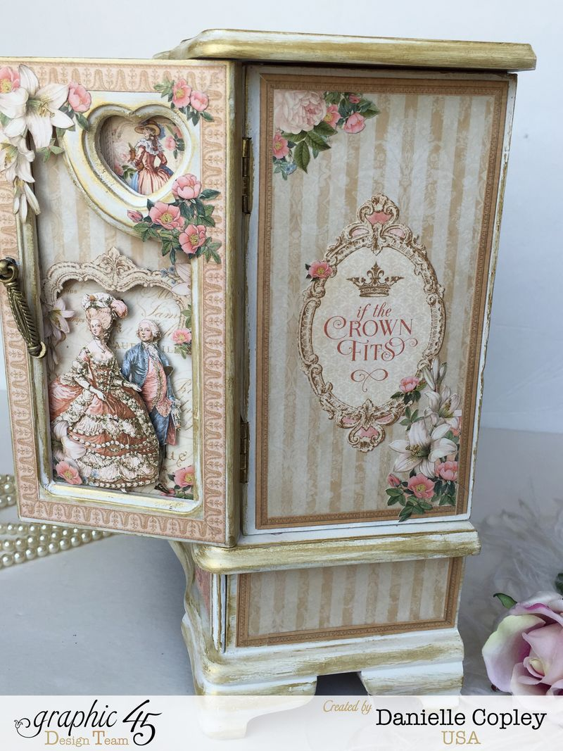 Gilded Lily Jewelry Armoire, Gilded Lily, by Danielle Copley, Graphic 45, photo 5