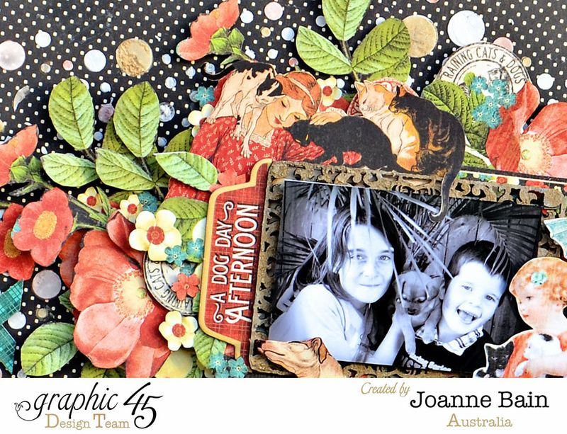 Joanne-Bain_Raining-Cats-And-Dogs_Faber-Castell_Layout_detail4