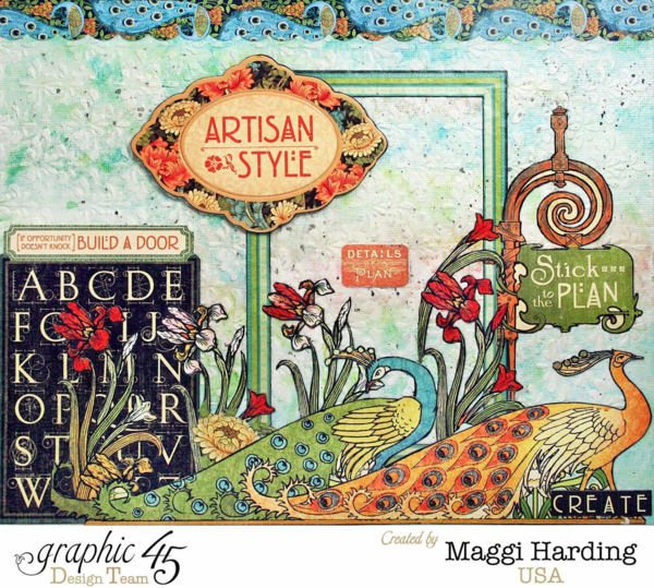 Canvas, Artisan Style, Maggi Harding, Graphic 45