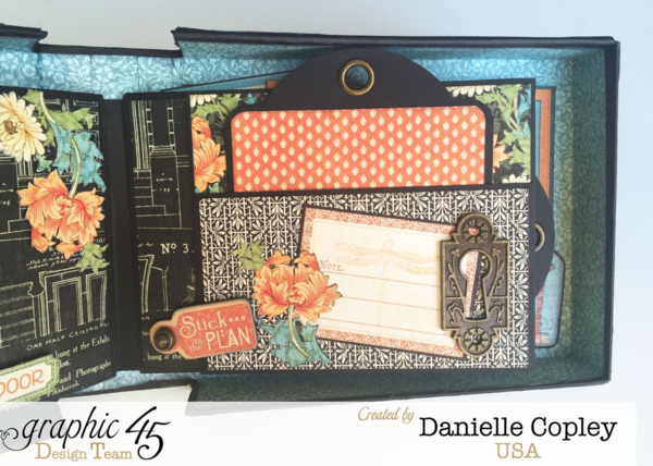 Boxed Mini and Stand, Artisan Style, By Danielle Copley, Product by Graphic 45