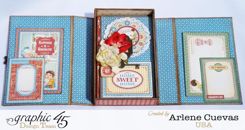 Altered Box and Album_HomeSweetHome_ArleneCuevas_Graphic45_Photo9