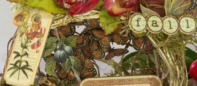 Tati, Fall Decor, Botanicabella, Product by Graphic 45, Photo 9