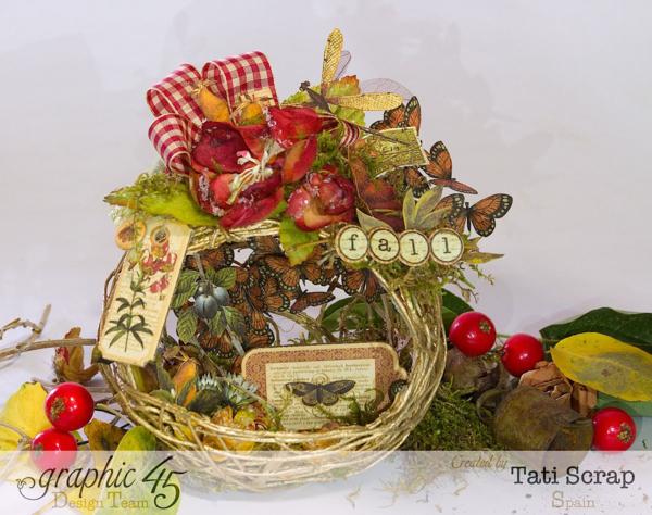 Tati, Fall Decor, Botanicabella, Product by Graphic 45