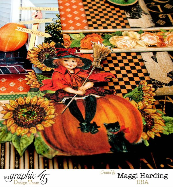 Fall Layout, An Eerie Tale, Maggi Harding, Graphic 45 (1)