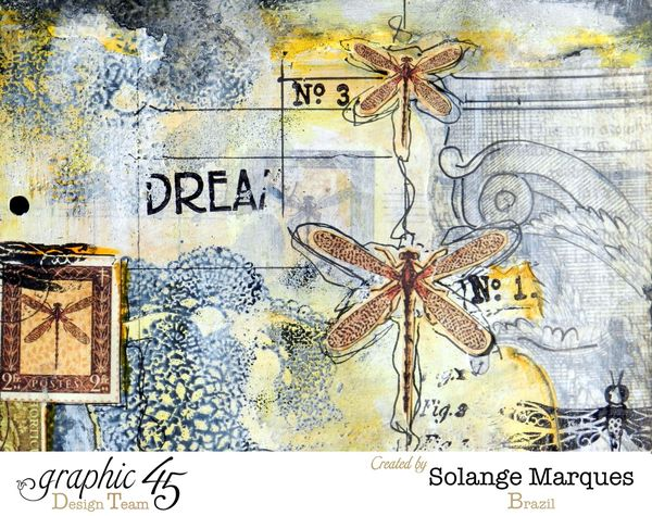 Art Journal pages by Solange Marques- Graphic 45 Botanicabella Deluxe Collector's Edition 2 (8)