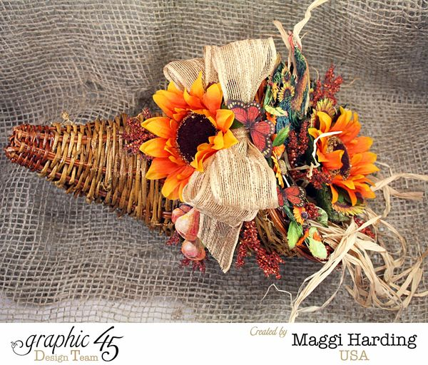 Cornucopia, French Country, Maggi Harding, Graphic 45 (1)