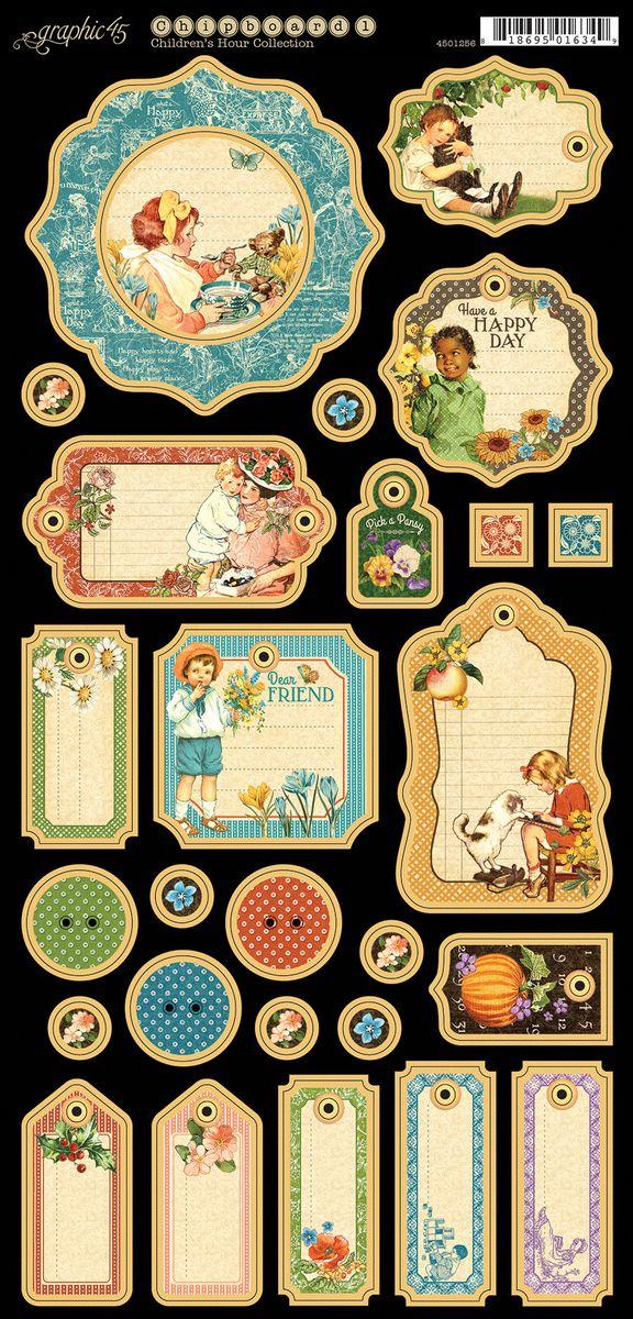Children's Hour Journaling Chipboard #sneakpeeks