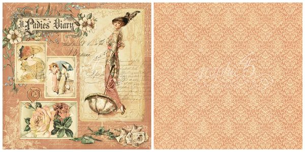 1 - A Ladies' Diary signature page, our newest 2016 Deluxe Collector's Edition from Graphic 45 #sneakpeeks #graphic45