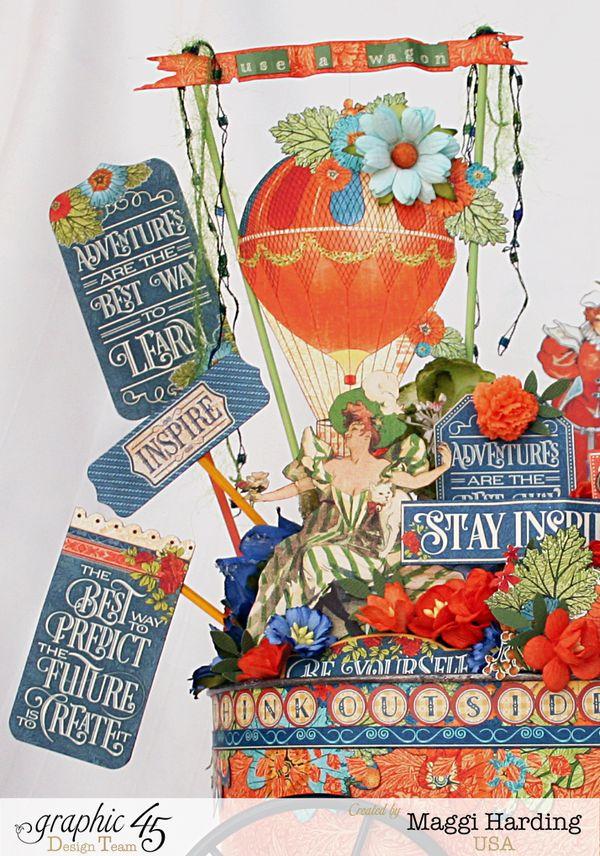 Creative inspiration wagon, Worlds Fair, Maggi Harding, Graphic 45 (2)