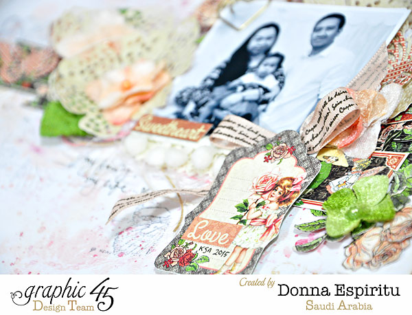 Beautiful Children's Hour layout by Donna using G45 and Petaloo #graphic45 #petaloo