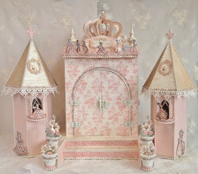 IMAGE-FAIRYTALE -PRINCESS-BOX.CASTLE--GRAPHIC 45-GILDED LILY-MINI ALBUM-TUTORIAL-HOW TO-MAKE-FREE-TEMPLATE-MEASUREMENTS,LEARN,CREATE-CRAFT-SCRAPBOOKING-FROM START TO FINISH-ANNESPAPERCREATIONS.COM-ANNE ROSTAD- (12)
