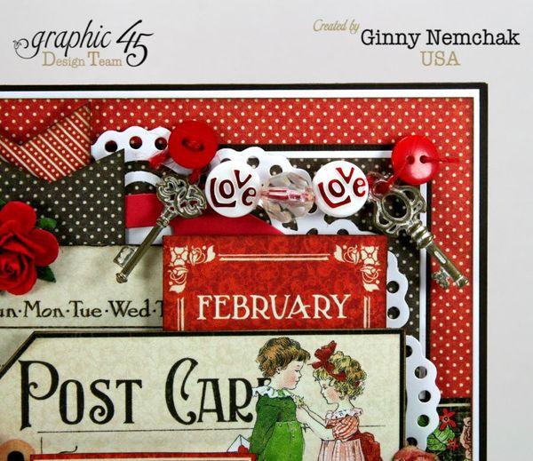 Childrens Hour Graphic 45 Valentine Card Ginny Nemchak 1