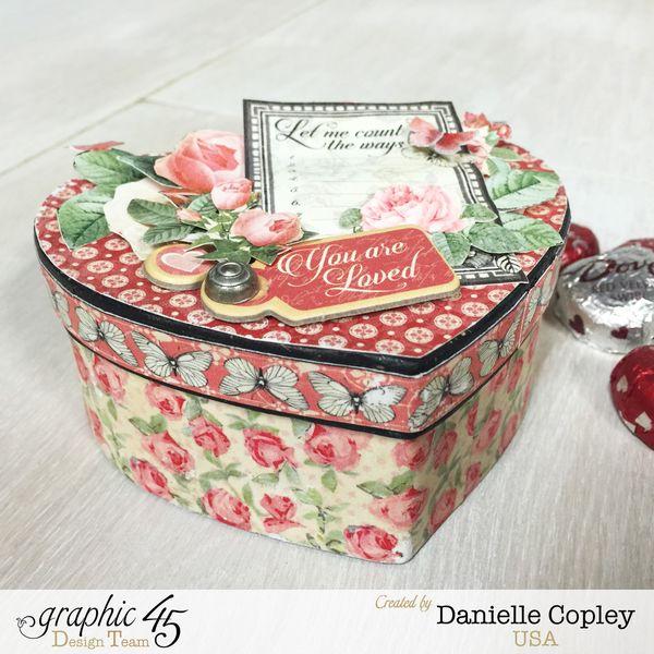 Valentine's Candy Box, Mon Amour, Danielle Copley, Graphic 45, Photo 2