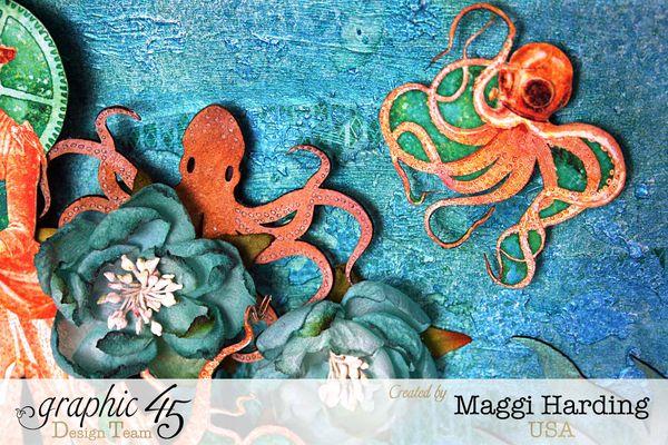 Octopus Garden diorama, Voyage Under the Sea, Maggi Harding, Graphic 45 (1)