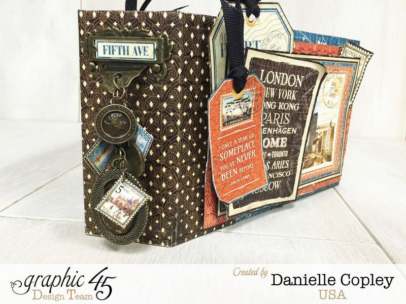 Cityscaped Mini Album, Cityscapes, Danielle Copley, Graphic 45, photo 2