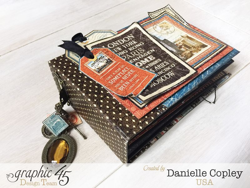 Cityscaped Mini Album, Cityscapes, Danielle Copley, Graphic 45, photo 7