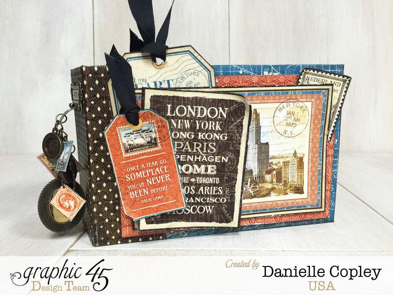 Cityscaped Mini Album, Cityscapes, Danielle Copley, Graphic 45, photo 8