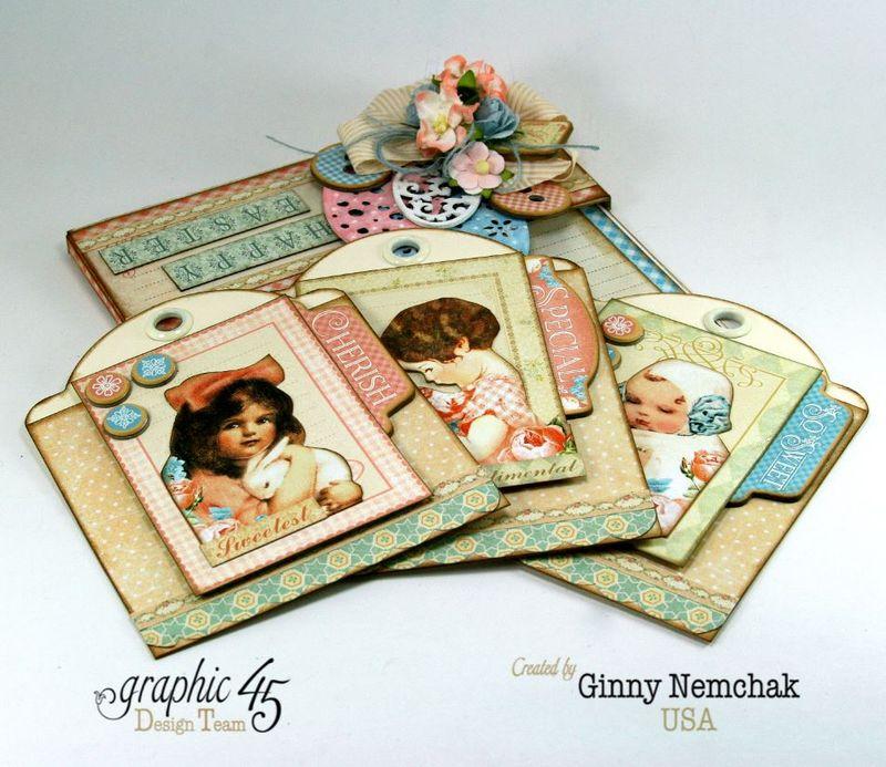 Happy Easter Pocket Graphic 45 Precious Memories Ginny Nemchak 4