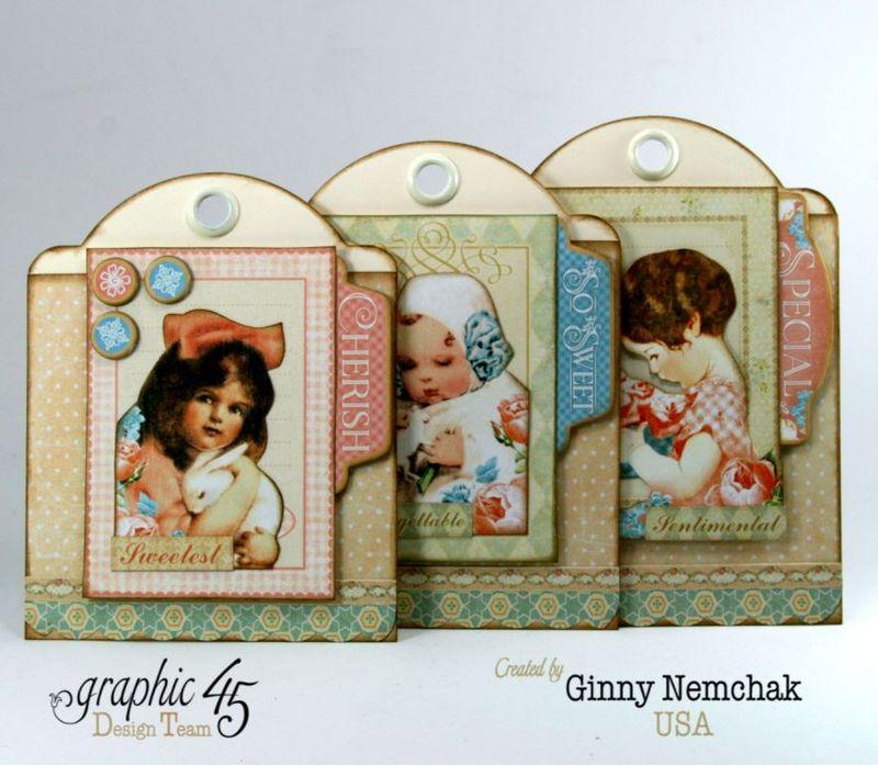 Happy Easter Pocket Graphic 45 Precious Memories Ginny Nemchak 3